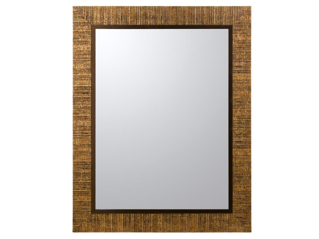 Espejo marco dorado lacado para pared espejos online - Espejos marco plateado ...