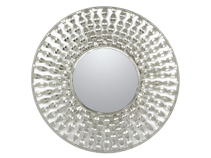 Espejo circular ondulado de metal cat logo espejos for Espejo circular