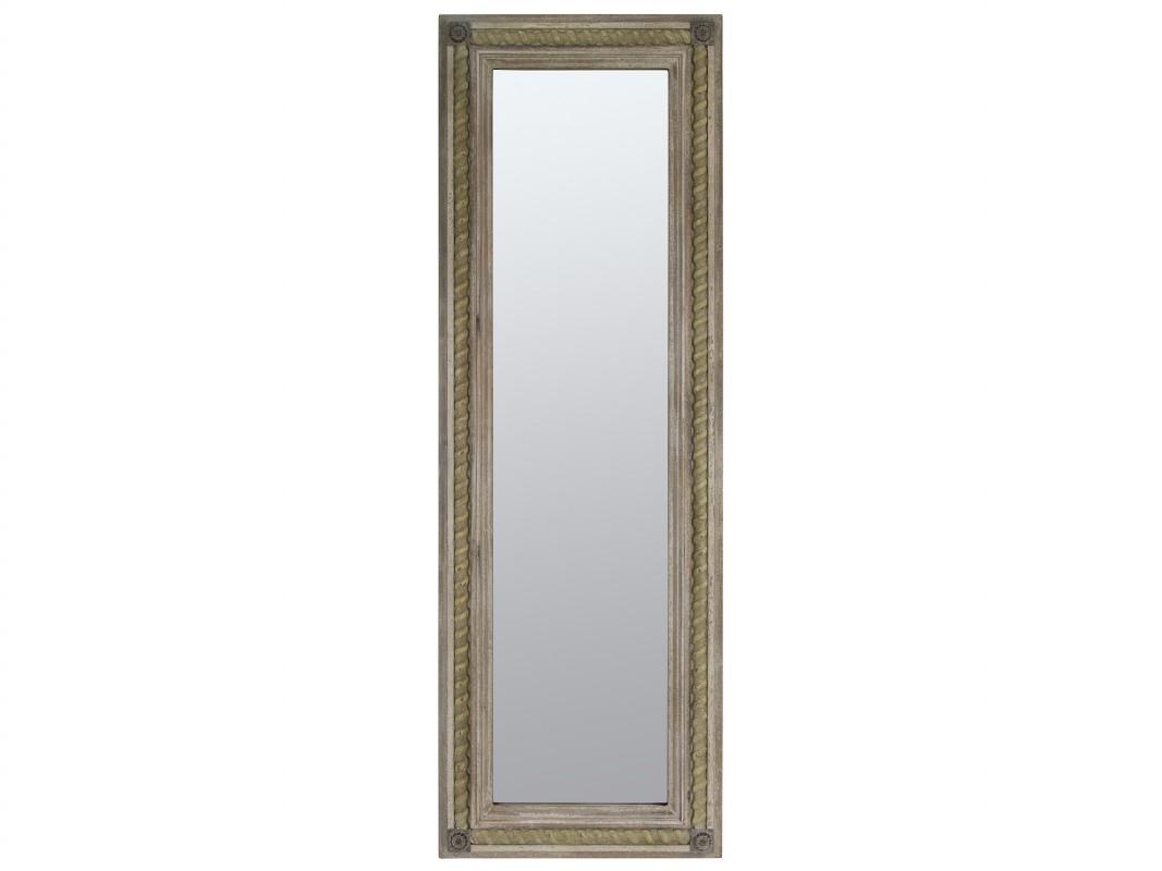 espejo vertical u horizontal madera envejecida estilo vintage