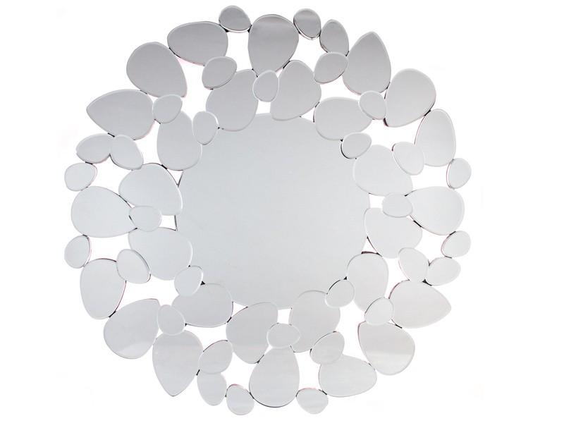 Espejo sol con marco de cristal for Espejo marco cristal