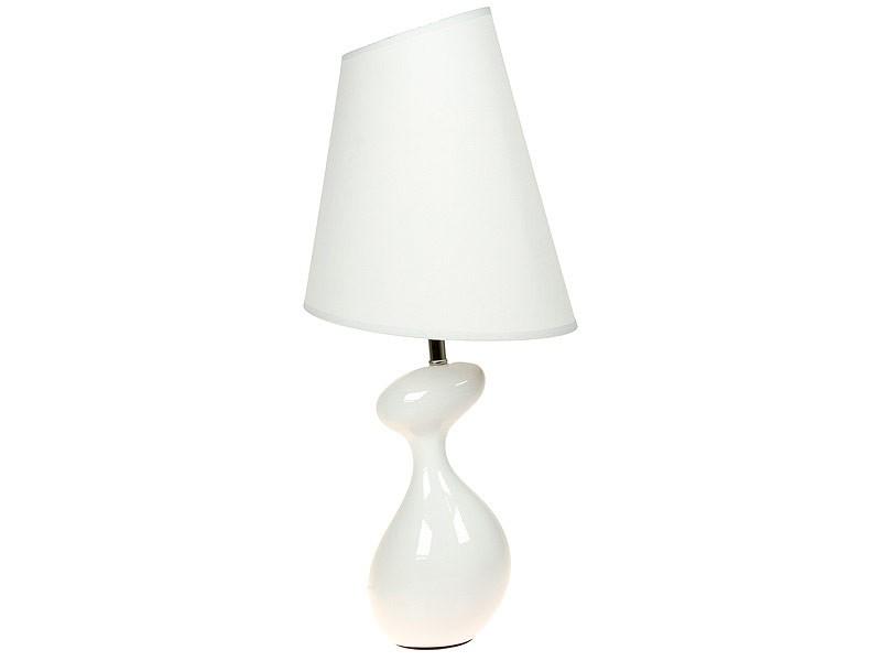 L mpara de mesa ovalada con pantalla trapezoidal l mparas - Pantallas de lamparas de mesa ...