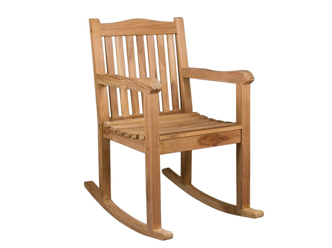 Mecedora r stica de madera de teca venta mecedoras online for Mecedora de madera