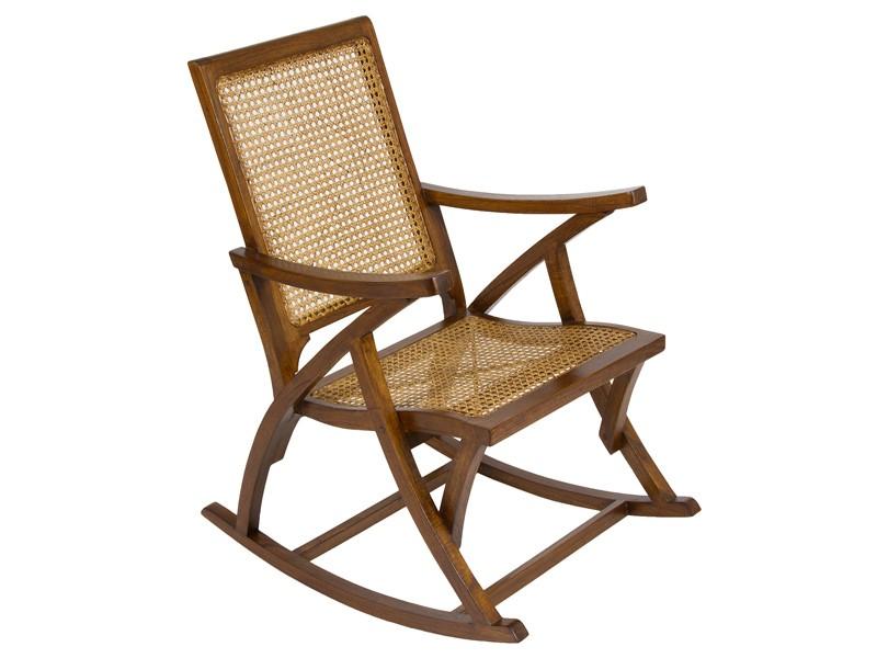 Mecedora cl sica de rattan y madera venta mecedoras online for Mecedora de madera
