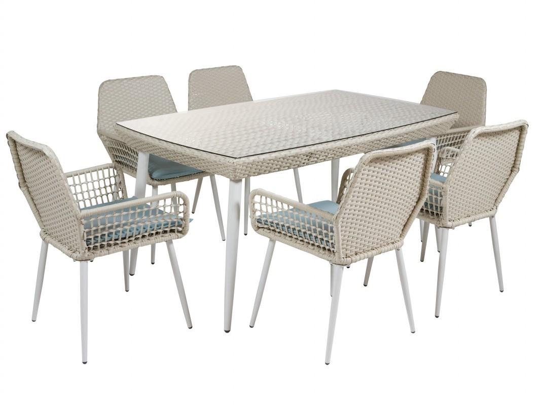 Sillas de jardin excellent mesa extensible mts sillas for Conjunto mesas y sillas de jardin baratas