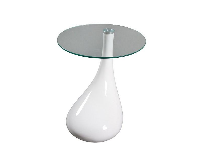 Mesa pie dise o en forma de pera venta mesas auxiliares - Mesitas auxiliares de cristal ...