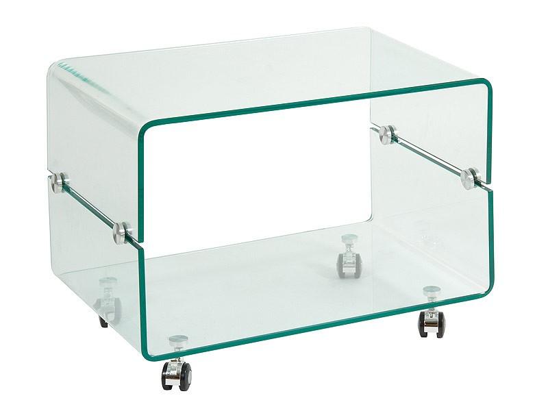 Mesa centro de cristal con ruedas venta mesas de centro for Mesas ovaladas de cristal