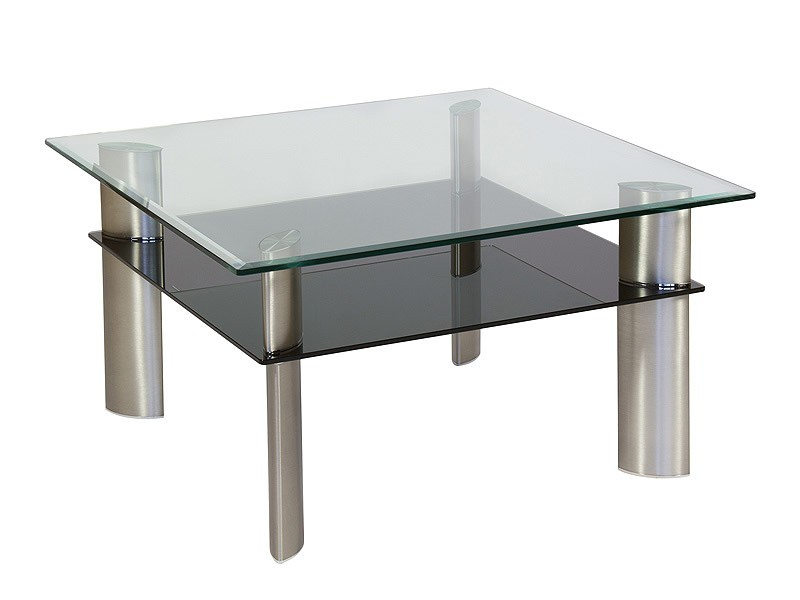 Mesa Centro Peque A Cristal Y Aluminio Venta Mesas Centro