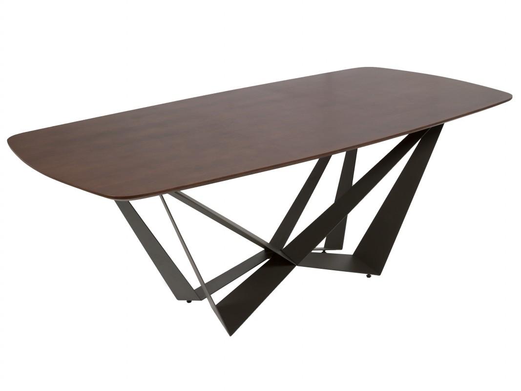 Mesa comedor 2 metros colonial contempor nea de hierro y roble for Mesa comedor 3 metros