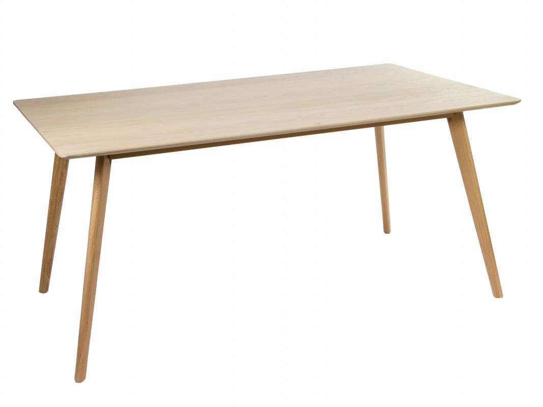 Mesa comedor roble y mdf - Mesas de comedor de madera online