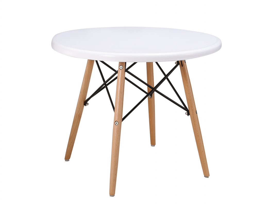 Mesa eames peque a de madera mesas auxiliares online - Mesas auxiliares pequenas ...