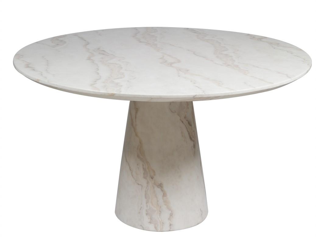 Mesa redonda mármol para comedor - Comprar mesa de mármol moderna
