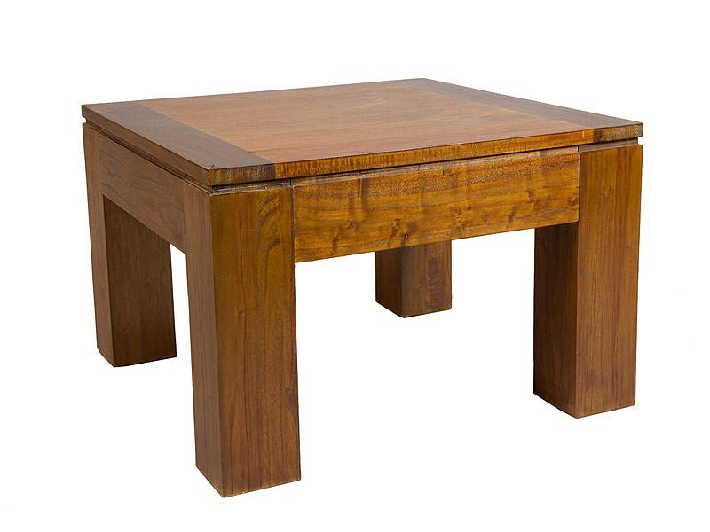 Mesa para rinc n estilo colonial de madera de mindi - Mesas de rincon ...