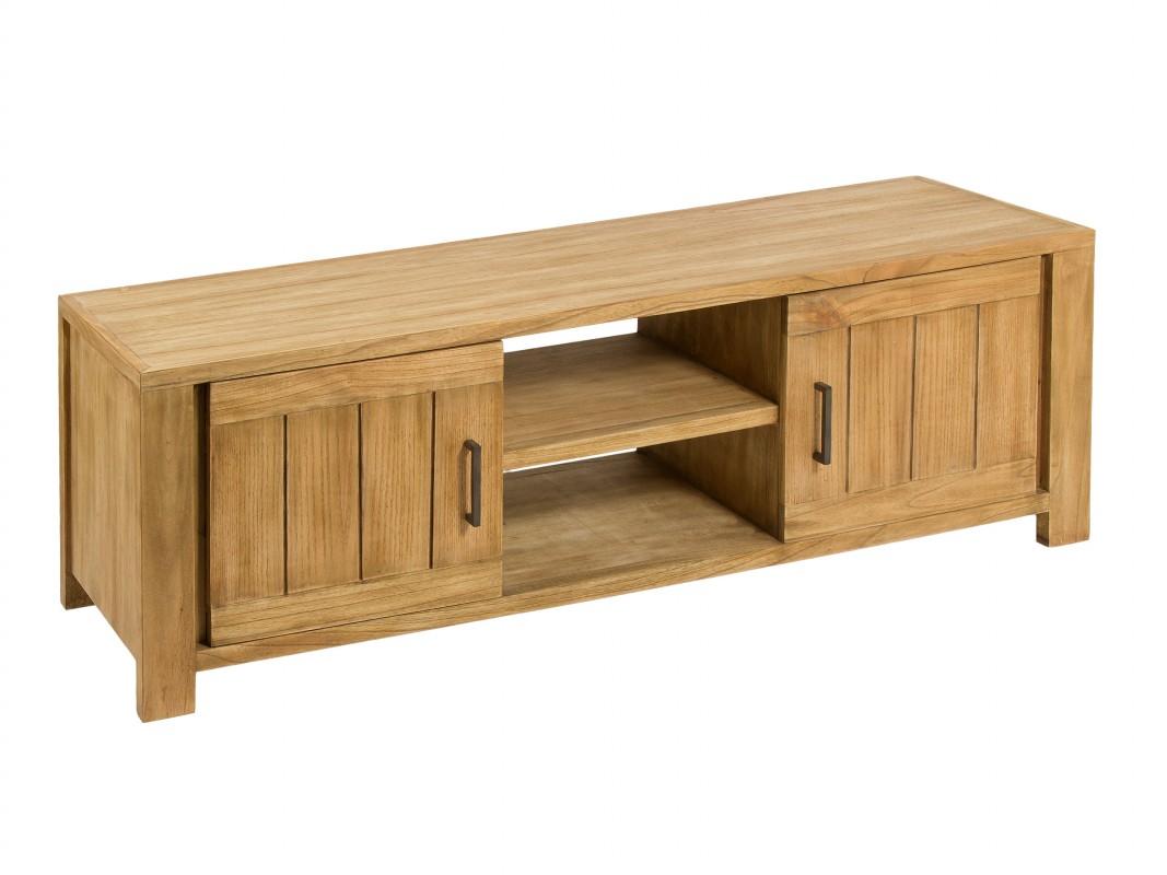 Mesa para tv r stica de madera venta muebles de televisi n for Muebles de madera para tv