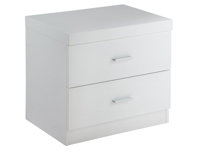 Mesa de noche blanca sin patas muebles de dormitorio - Mesitas de noche blancas segunda mano ...