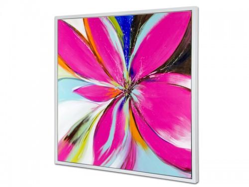 Cuadro grande flores al leo estilo moderno cuadros online - Cuadros estilo moderno ...