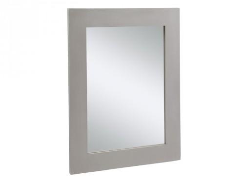 Espejo gris de madera espejos decorativos online for Espejos decorativos online