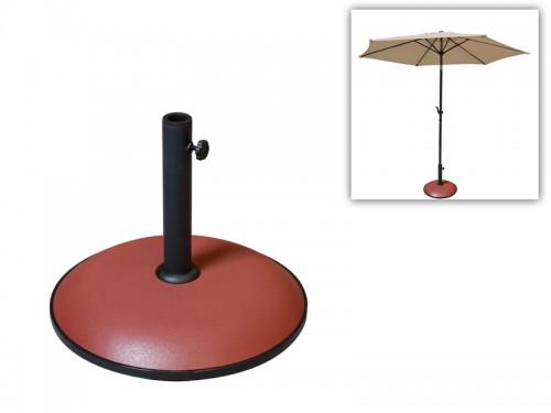 Base redonda de cemento para sombrilla de terraza - Sombrilla de terraza ...