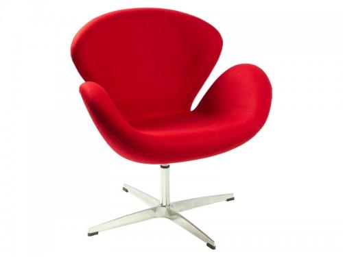 Comprar silla cisne swan chair en aluminio y polipiel - Replicas muebles diseno ...