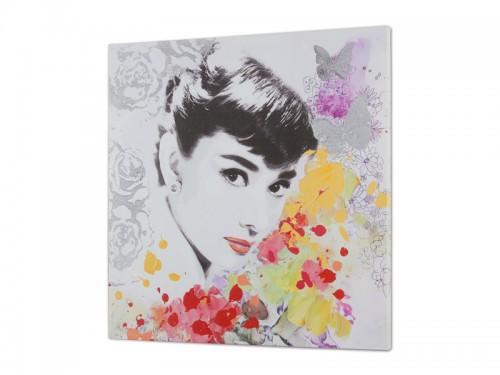 Cuadro digital audrey hepburn cuadros decorativos online - Cuadro audrey hepburn ...