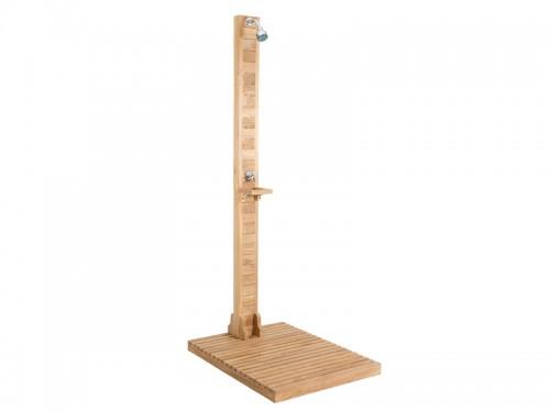Ducha jard n de madera de teca ducha de exterior online - Ducha para jardin ...