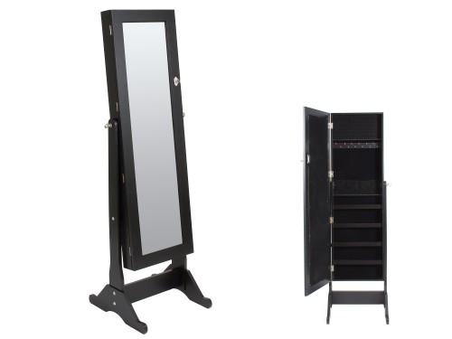 Espejo cuerpo entero con armario joyero venta de espejos for Espejos de cuerpo entero con pie