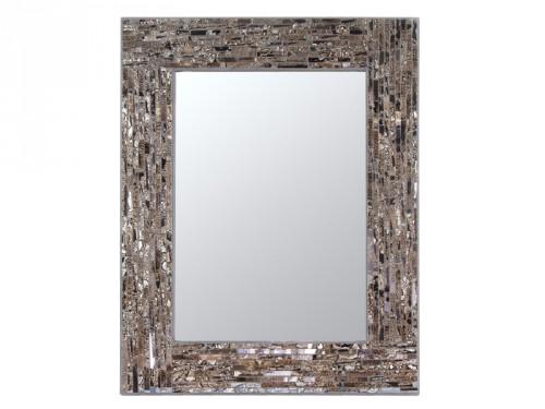 Espejo mosaico con marco de vidrio para pared decoraci n for Mosaicos para espejos
