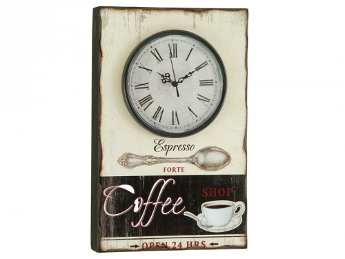 Reloj de pared vintage coffee for Reloj de pared vintage 60cm