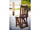 Silla escalera plegable de madera cat logo sillas comedor for Silla convertible en escalera