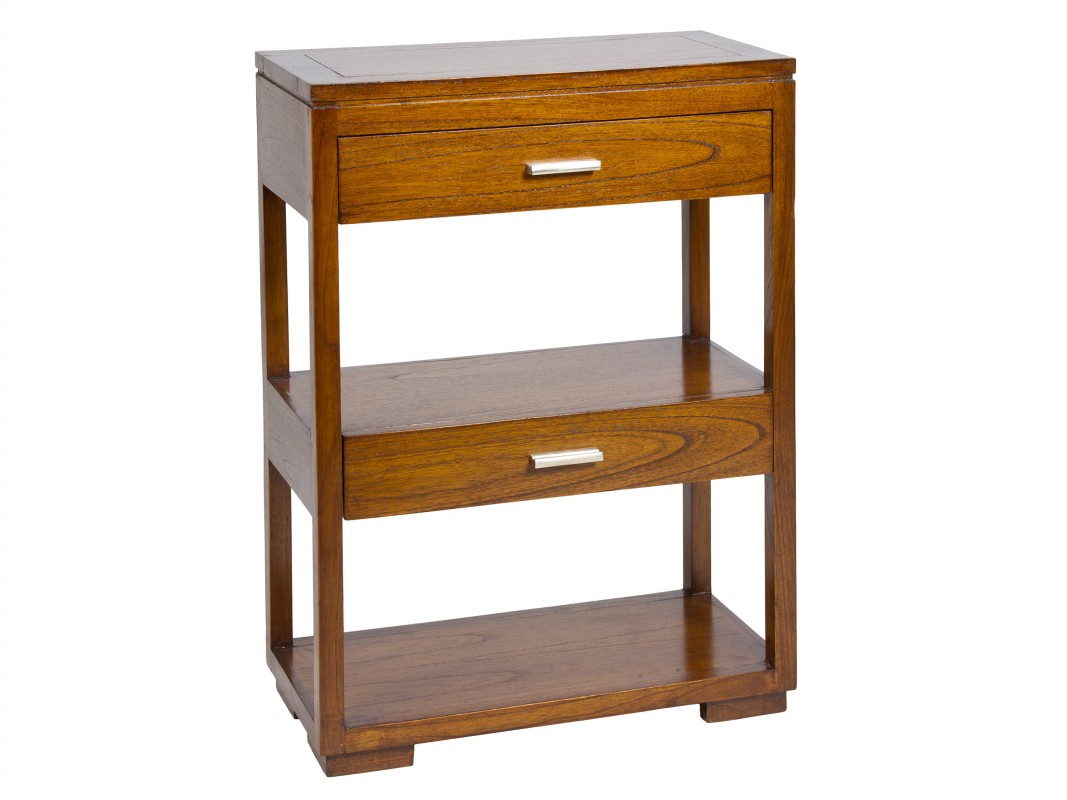 Mueble auxiliar peque o con cajones forest - Muebles recibidores pequenos ...