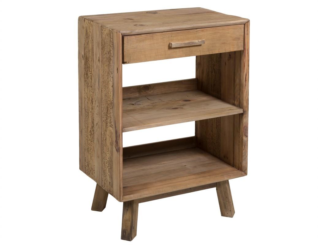 Mueble auxiliar madera reciclada r stico vintage mueble for Cosas con madera reciclada
