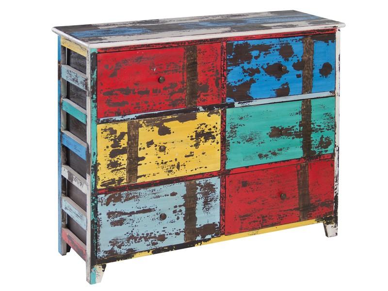 Mueble decapado de colores muebles envejecidos online - Colores de muebles ...