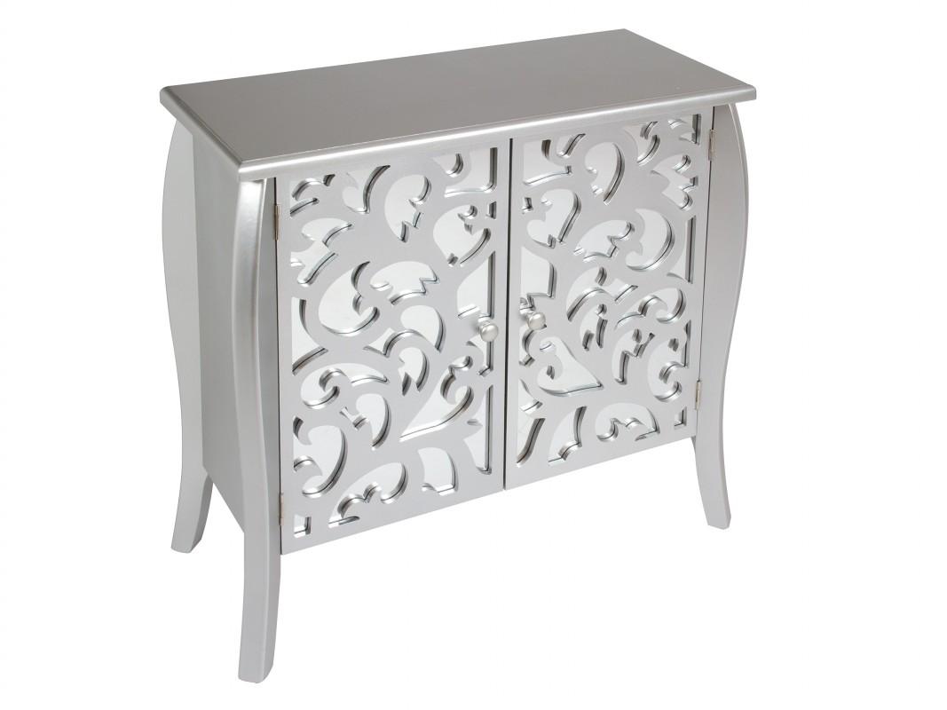 Mueble consola de espejo estilo cl sico muebles entrada - Muebles de recibidor clasicos ...