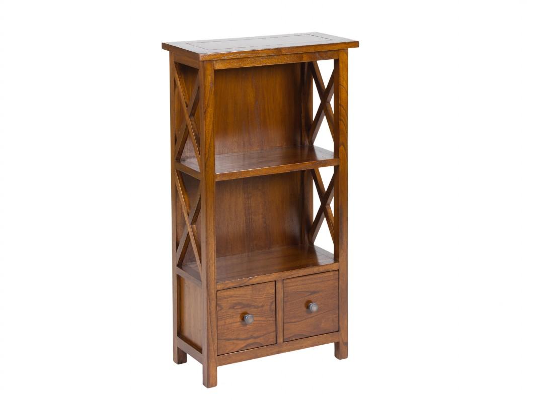 Mueble librer a peque o de madera cat logo muebles librer as for Muebles para jardin pequeno