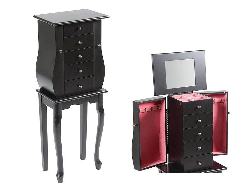 mueble joyero de madera con espejo venta de muebles joyero