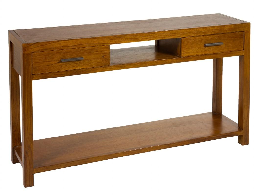 Mueble recibidor grande colonial r stico comprar consola - Mueble recibidor rustico ...