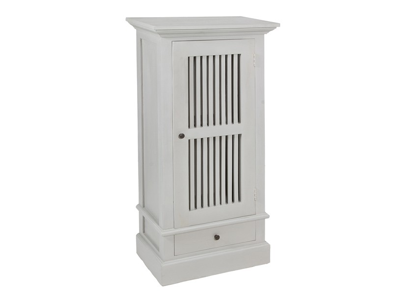 Mueble toallero peque o de madera color gris toalleros for Muebles de madera color gris