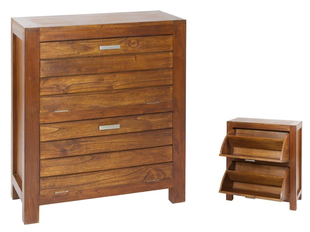Mueble zapatero peque o madera 2 puertas venta zapateros for Muebles para cds madera