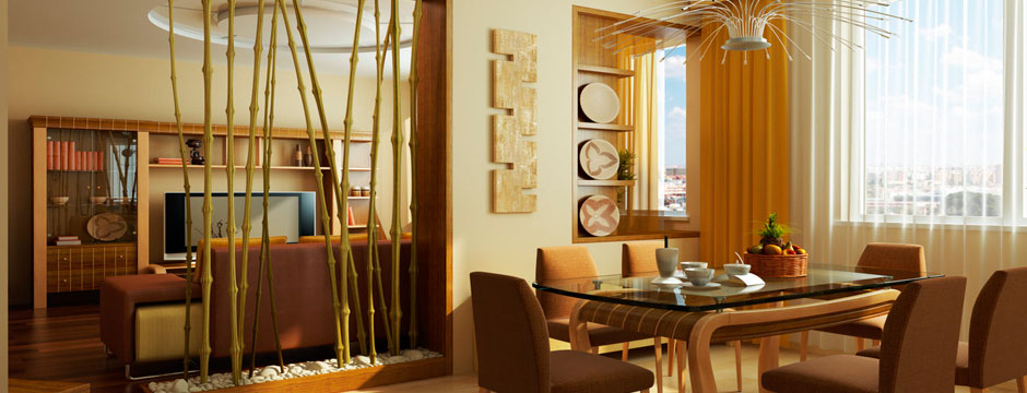 Bambu Decoracion Exterior ~ Decorar con ca?as de bamb? natural en interior y exterior