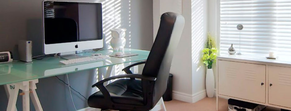 Decorar la oficina o despacho claves y consejos a tener - Decorar despacho pequeno ...