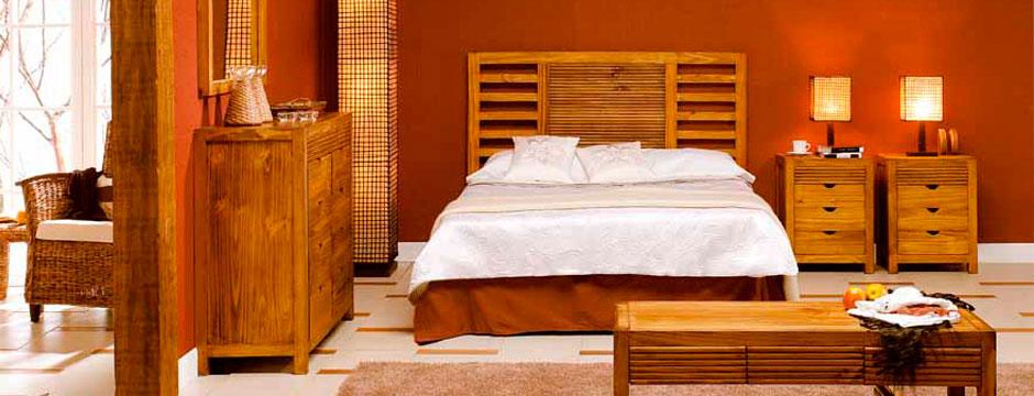 Muebles auxiliares de estilo r stico calidez y confort for Muebles estilo rustico