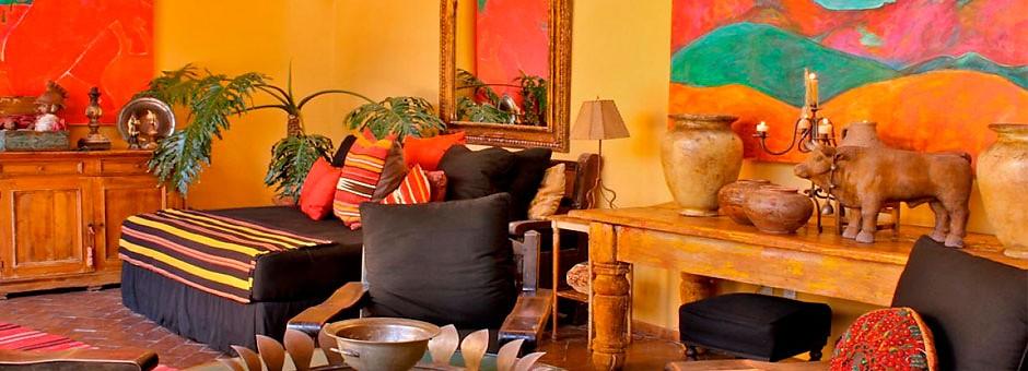 El estilo de decoraci n mexicano caracter sticas y consejos for Decoracion estilo mexicano moderno
