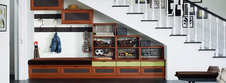 Ideas para aprovechar y decorar el hueco de la escalera for Aprovechar hueco escalera duplex
