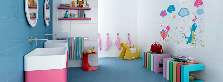 Consejos para decorar un cuarto de ba o infantil for Como decorar un cuarto infantil
