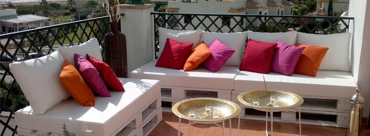Crear un rinc n chill out con palets en casa - Rincon chill out ...