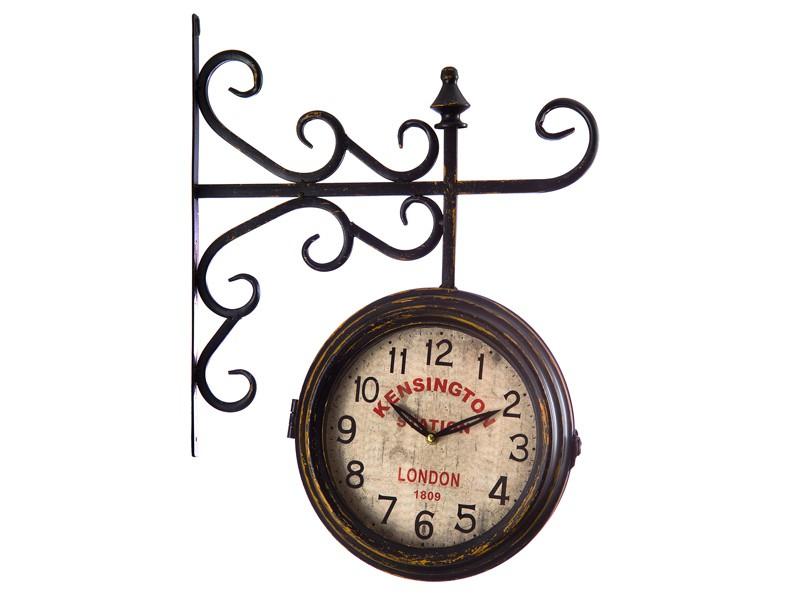 reloj estaci n de tren estilo vintage relojes decorativos
