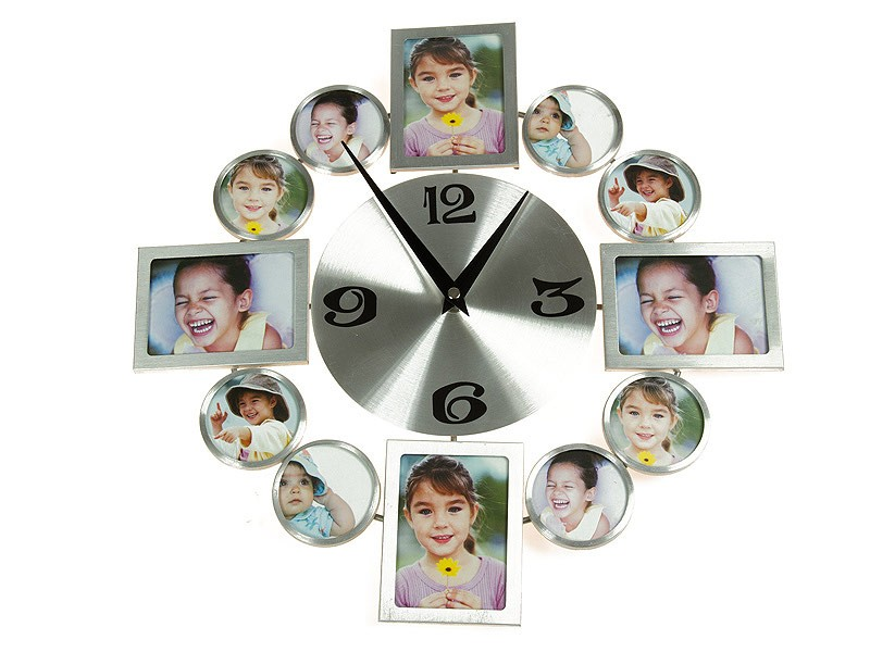 Increíble Reloj De Pared Con Marcos De Cuadros Friso - Ideas ...