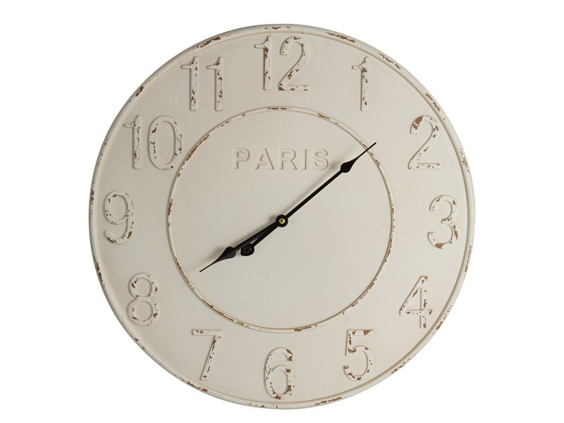 Reloj de pared vintage blanco comprar reloj pared online for Donde venden murales para pared