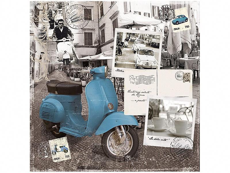 Servilletas de papel vespa italia art culos de menaje for Articulos de menaje