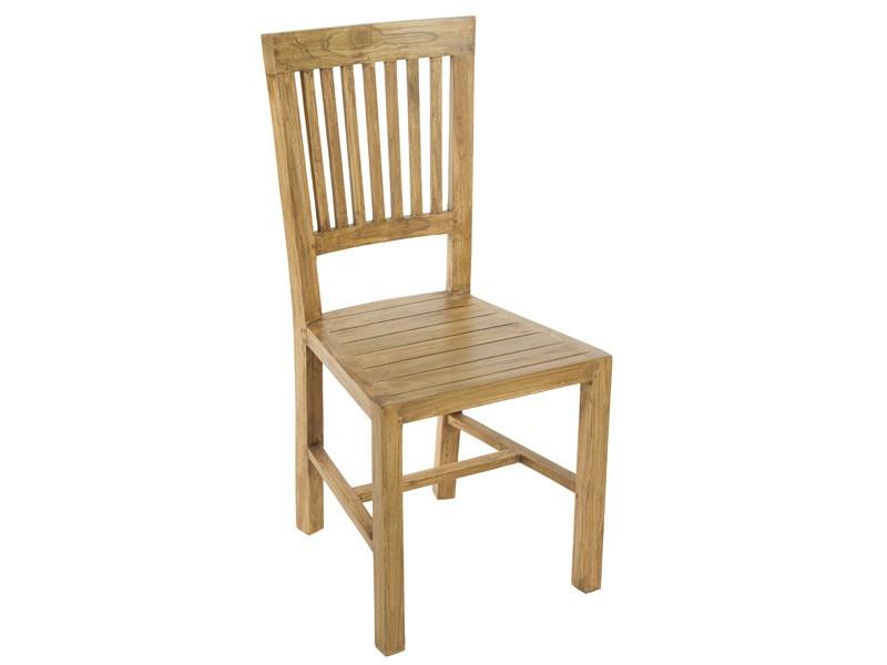 sillas de comedor rusticas en madera