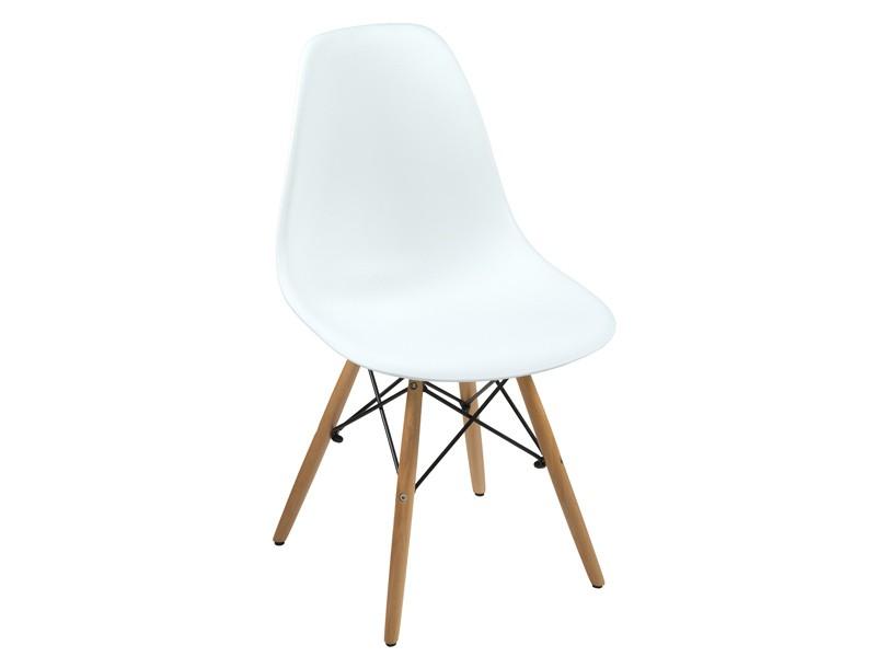 Silla eames cl sica blanca r plica sillas dise o for Sillas clasicas de salon